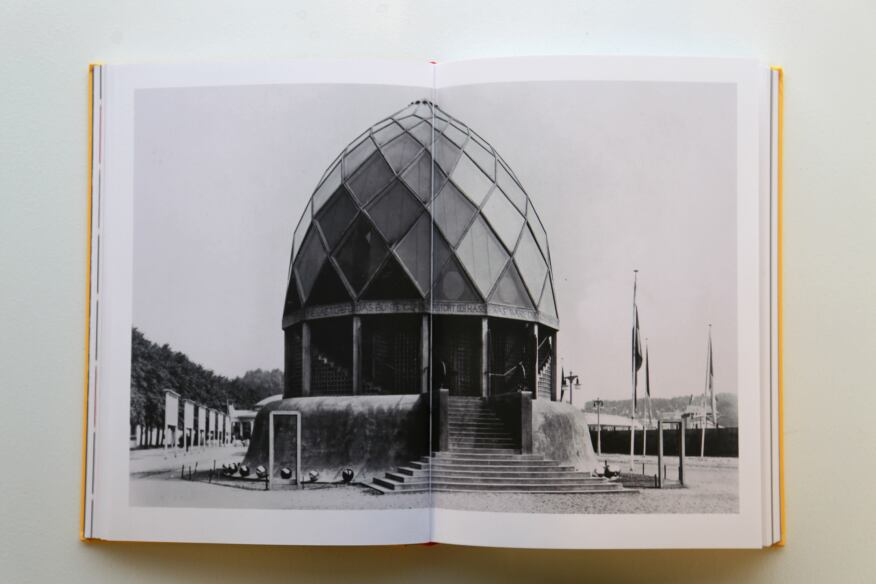Bruno Taut's Glass House from the 1914 Werkbund Exhibition