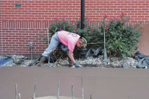 Martiny came into the concrete industry in 1982 as a concrete finisher apprentice. She worked for commercial concrete contractors in the Kansas City area for many years, eventually ending up doing mostly decorative concrete work.