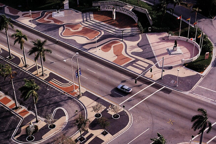 Biscayne Boulevard in Miami