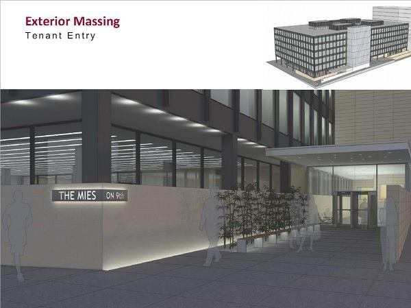 A conceptual design of the renovations included in the 2012 report by Freelon Group