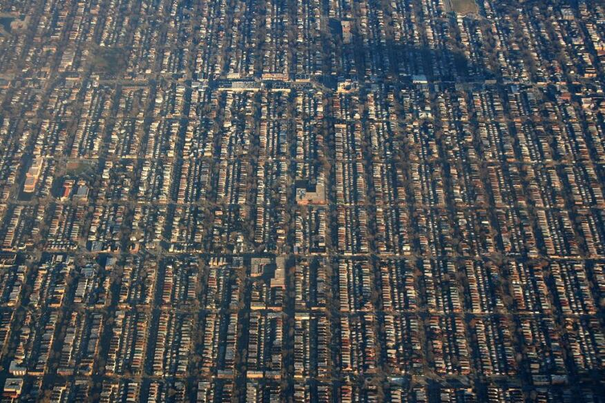 Suburbs of Chicago.