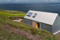This Home on a Scottish Isle is Made Out of Aluminum