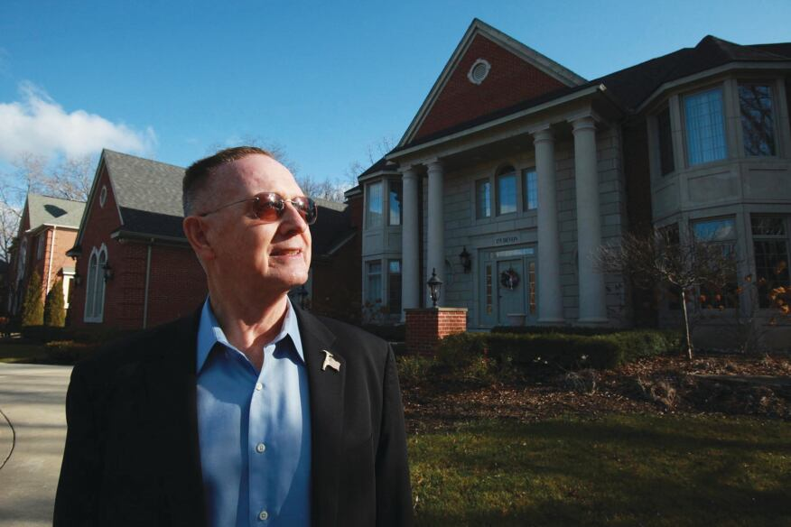 LOOKING AHEAD: Robert Jones, who has been building homes in Michigan for 35 years, is hoping the housing industry will finally turn upward in 2010.