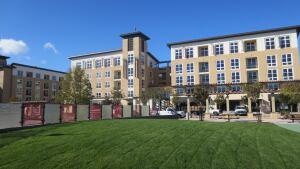 Targeting Bay Area Renters. This month, Sares Regis Group of Northern California will open The Plaza, an apartment complex with 307 rental units, which is part of a 20-acre master-planned redevelopment. The company has 13 projects and 2,300 rental units under development and construction.