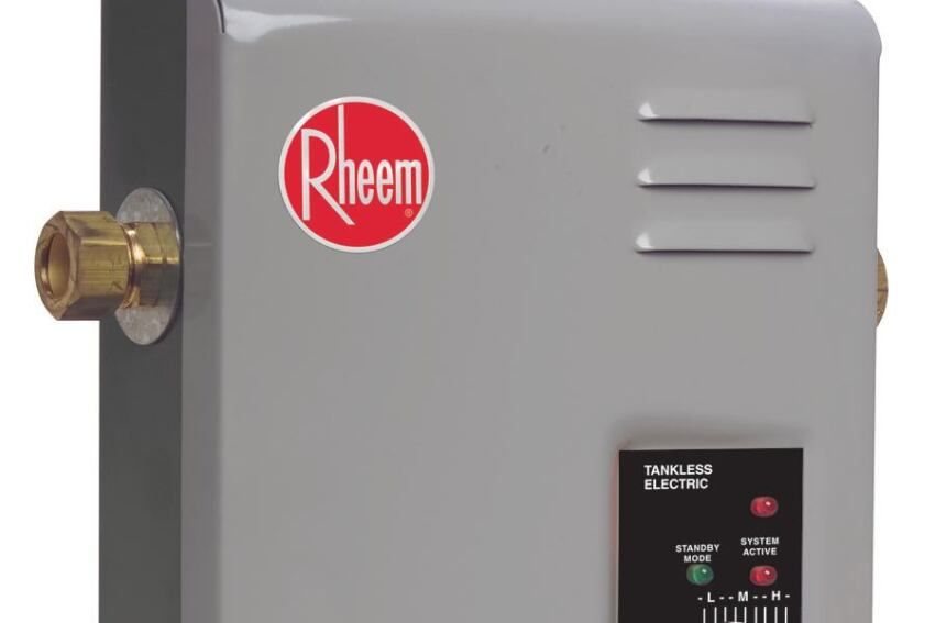 Rheem Manufacturing Co. Electric Tankless Water Heater