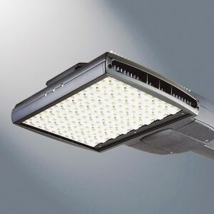 Designed for a wide variety of area and roadway applications, the Ventus LED Area Luminaire from Cooper Lighting brand McGraw-Edison uses Coopers proprietary LED LightBar technology. Its construction allows for passive cooling and natural cleaning of the extruded heat sink, ensuring reliable operation in adverse conditions in parking lots, roadways, and security lighting applications. LightBar provides energy savings between 30% and 75% compared to standard HID systems while offering a more than 50,000-hour rated life. The luminaires modular design allows lumen and energy output to be scaled and optimized for the needs of a given space. Bi-level switching is also available. mcgraw-edison.com