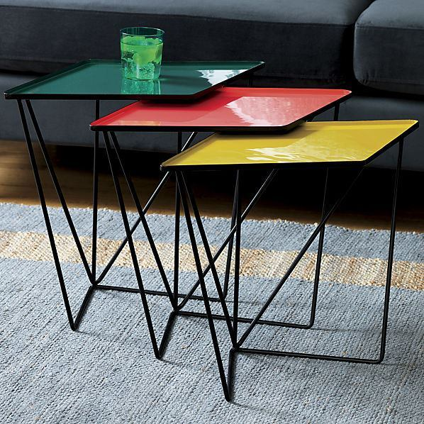 SAIC Paradox Nesting Tables - Set of Three