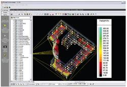 A screenshot shows Autodesk's Revit MEP, the company's BIM solution for mechanical, electrical, and plumbing engineering, and its interoperability with the Virtual Environment daylight analysis program by Integrated Environmental Solutions. The Revit platform, according to Autodesk, provides complete, discipline-specific building design and documentation systems supporting all phases of design, construction documentation, and even fabrication.