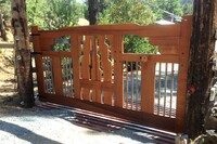My New Home: Craftsman Style Gate | THISisCarpentry