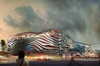 Hot-Rod Facade for Petersen Automotive Museum