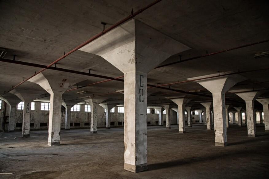 Interior, Dacheng Flour Factory