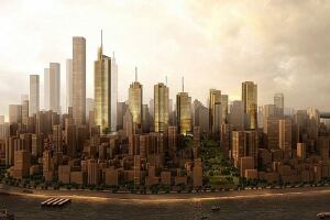 Kohn Pedersen Fox Associates, Chongqing Financial Street master plan