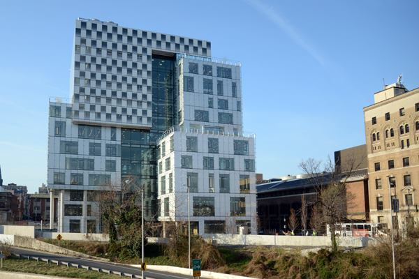 The John and Frances Angelos Law Center at the University of Baltimore, Maryland.