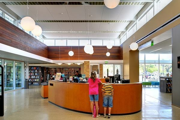 Oak Forest Neighborhood Library; NAAA + AWI + JRA; Houston