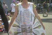 Protest Dress for Olympic Architect Recognition