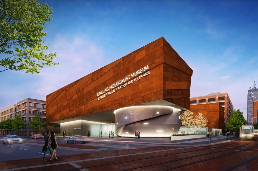 Dallas holocaust museum architect magazine omniplan for Hanley wood texas