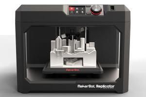 The Replicator 3D printer from MakerBot.