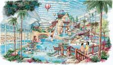 Indoor Waterpark : One