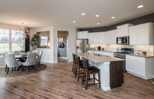 Pulte is opening a new community on the site of the Hillcrest Golf & Country Club in Hollywood, Florida. It will feature open designs such as the Pulte kitchen pictured above.