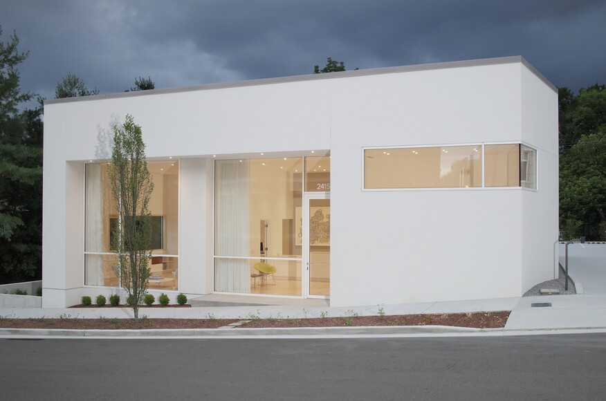 Modern Architecture Nashville Tn silver space | architect magazine | price harrison architect