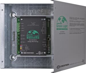 How can you make sure all the energy-efficient lighting in your building is actually saving energy? With Crestron's Green Light Power Meter. It logs overall electricity usage in real time so building managers can measure and monitor consumption. Power usage data are transferred via Ethernet to a Crestron control system, which makes the information available for viewing on a touchscreen, laptop, or Apple/Android mobile device.
