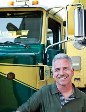 "Larry Almaas has driven for Huttig and its predecessor for 27 years. ""I enjoy the customers, getting to know them,"" he says. ""I also enjoy the freedom. Once I leave, I'm my own boss."""