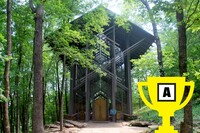 The Winner of Arch Madness 2015: Thorncrown Chapel
