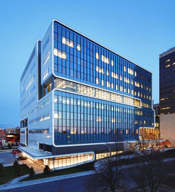 Kaleida Health, Gates Vascular Institute and UB Clinical Translational Research Center, Buffalo, N.Y., by Cannon Design