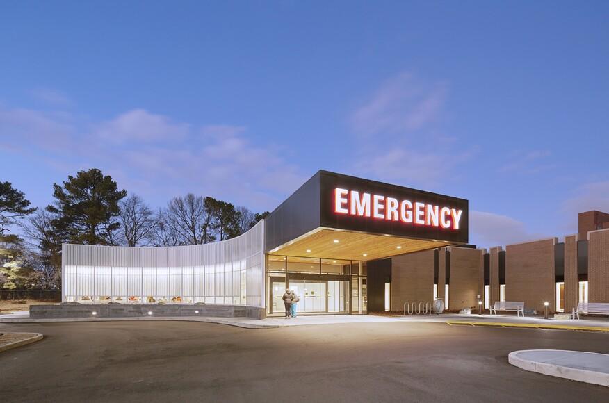 Methodist South Emergency Department Architect Magazine