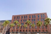 High-Performance Exterior for Loyola University New Orleans Renovation of Monroe Hall