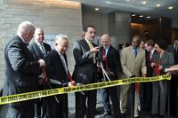 Mayor Gray Cuts Ribbon for HOK-Designed Consolidated Forensics Laboratory