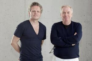 Christoph Felger, a managing director and partner in the firm's Berlin office, and David Chipperfield.
