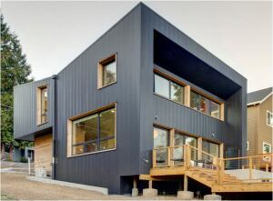 Project: Full Plane Passive House, Portland; Builder: JRA Green Building