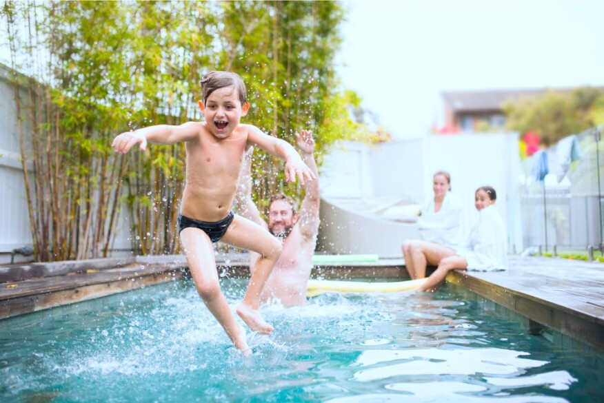 Summer 2017 forecast five new trends from pool care to for Pool design trends 2017