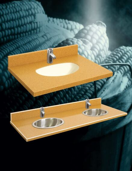 Lavatories Made From Bio-Material