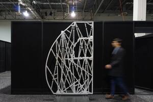 The Living and Autodesk Apply Bionic Design to an Airbus 320 Partition