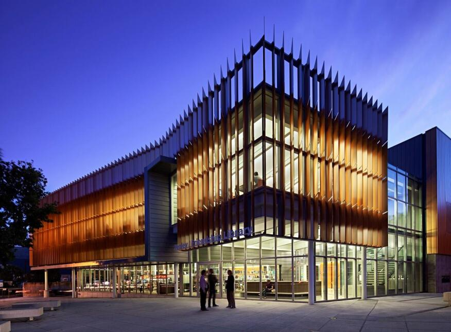 Tenley-Friendship Library, Washington, D.C., by The Freelon Group.