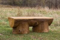Kay Park Recreation Makes Log-Look Outdoor Furniture