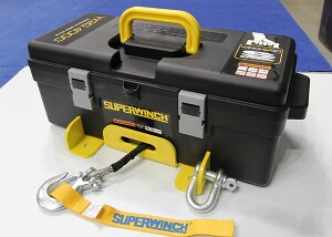 Superwinch Winch2Go--as seen at the 2016 Work Truck Show.