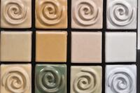 Porcelain Tile From Recycled Bath Fixtures