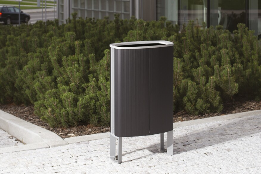 minium, litter bin, MIU, design: David Karasek, Czech Republic