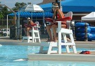 Tailwind Recycled Plastics Lifeguard Chairs