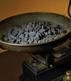 Minelco's magnetite products have a higher level of iron, so they are more dense than alternative products.