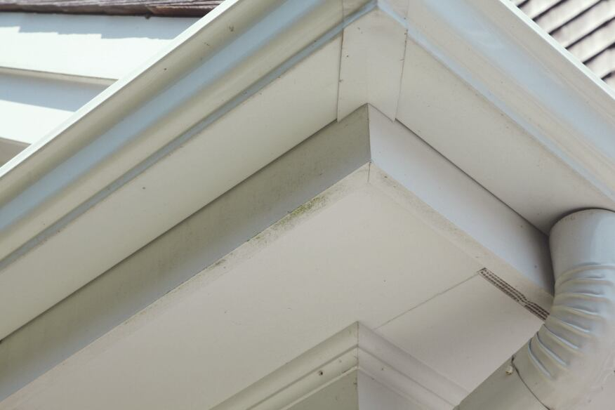 Ripping PVC trim exposes the open interior cells. If left unsealed,