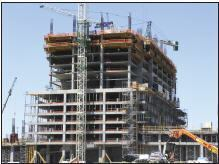 EFCO's formwork helped save time and money in the Trump Tower Las Vegas.