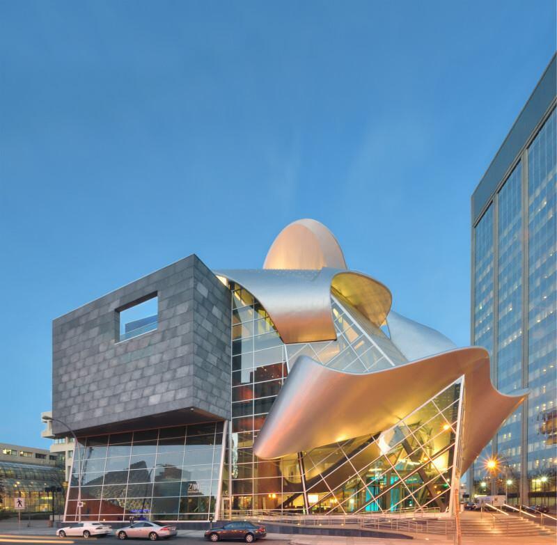Art Gallery of Alberta in Edmonton, Alberta, Canada, completed in 2010.