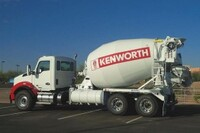 Kenworth To Showcase T880 Mixer with PACCAR MX-13 Engine at World of Concrete