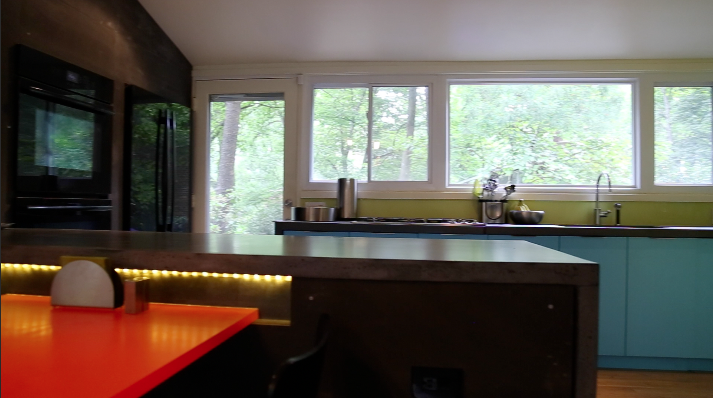 2014 Merit Award Winner: Mid-Century Modern Kitchen