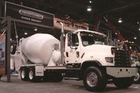 Trucks at World of Concrete
