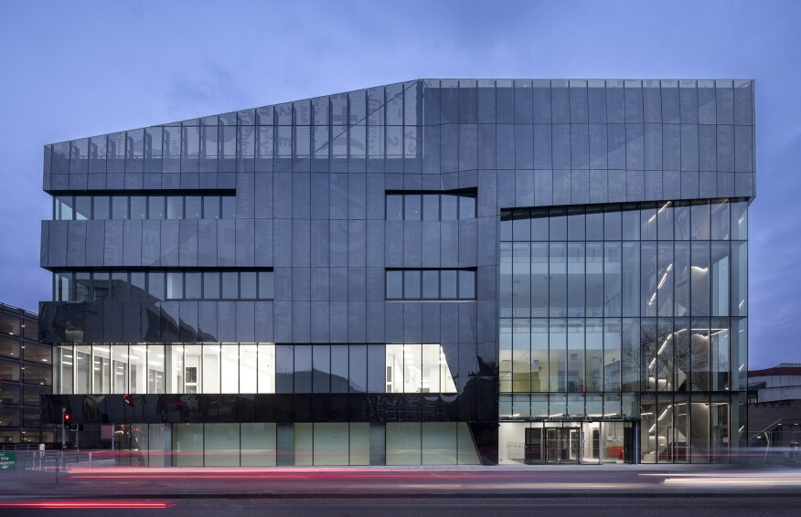 The National Graphene Institute at the University of Manchester in the U.K.